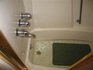 tub drain slow