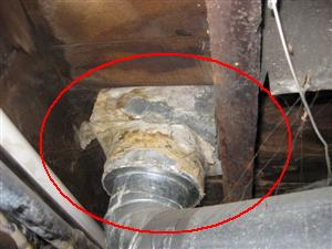 Heating duct problem