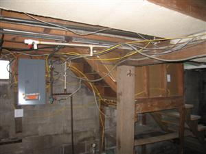 electric wire mess
