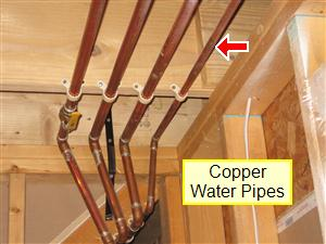Plumbing system inspection your home inspection checklist for Pex vs copper main water line