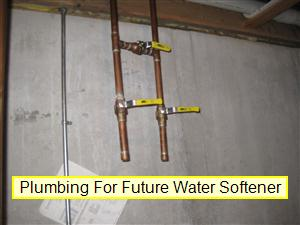 Installed For Future Water Softener Plumbing System Inspection Your Home Checklist