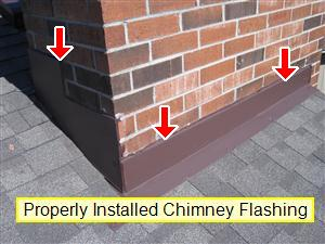Chimney flashing 1