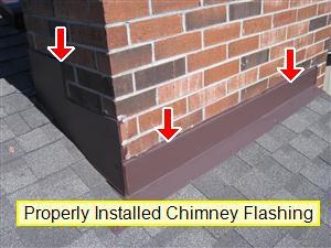 Chimney flashing 1