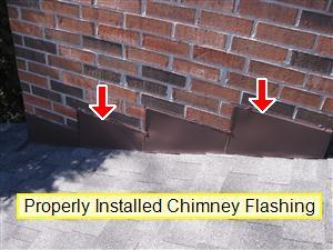 Chimney flashing 2