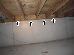 No insulation