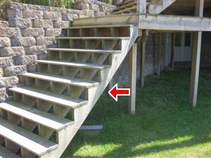 missing railing