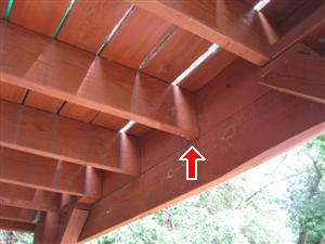 missing deck joist hanger