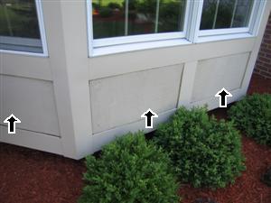 exterior siding rot
