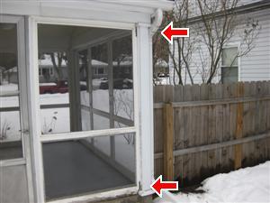 exterior siding rotting post