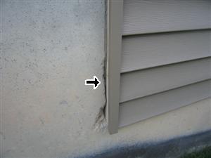 exterior siding problem