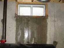 Basement window leaks
